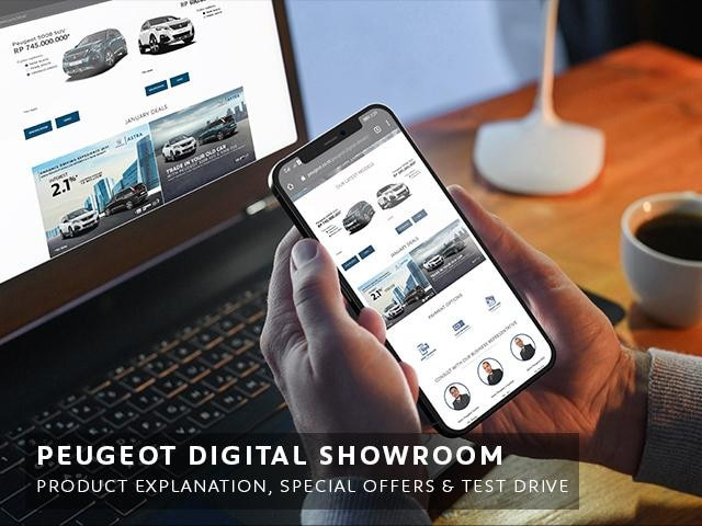 Peugeot Digital Showroom
