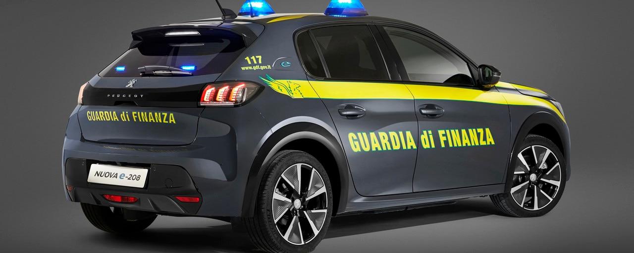 PEUGEOT_e-208_GUARDIA_DI FINANZA