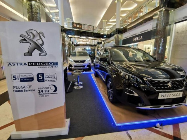 Astra Peugeot Exhibition