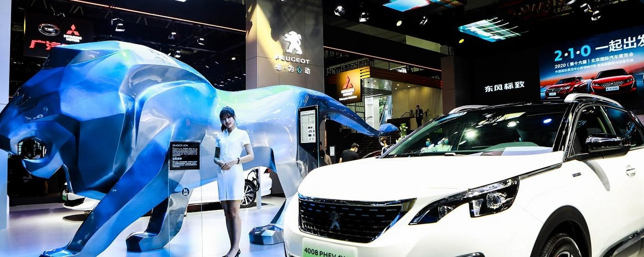 Peugeot booth 4008