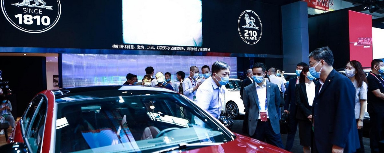 Peugeot Booth 508